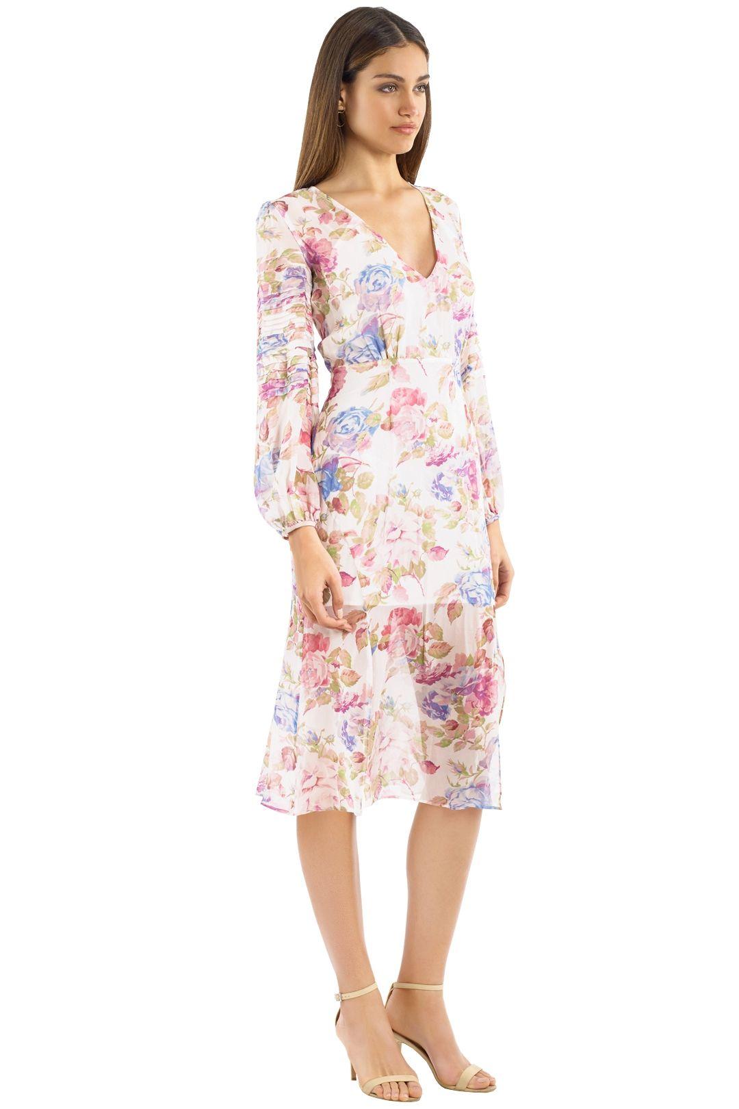Talulah - Epiphany Midi Dress - Pink Multi - Side