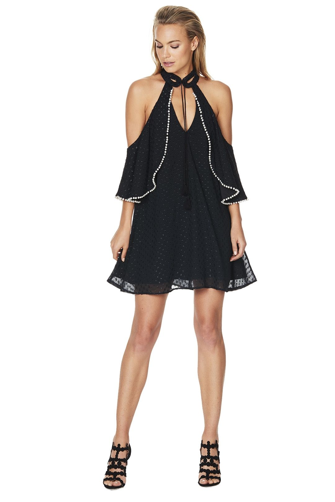 Talulah - Faith Mini Dress - Black - Front