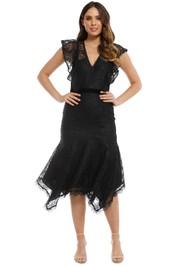 Talulah - Feminino Midi Dress - Black - Front