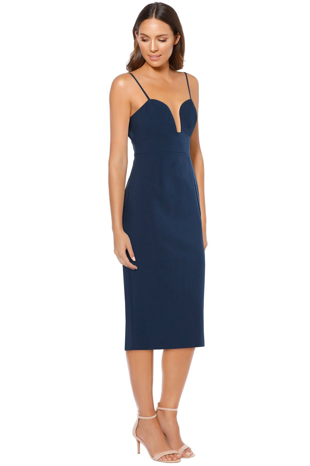 Talulah - Intimate Bodycon - Navy - Side