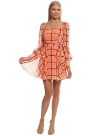 Talulah - Mimosa Mini Dress - Orange - Front