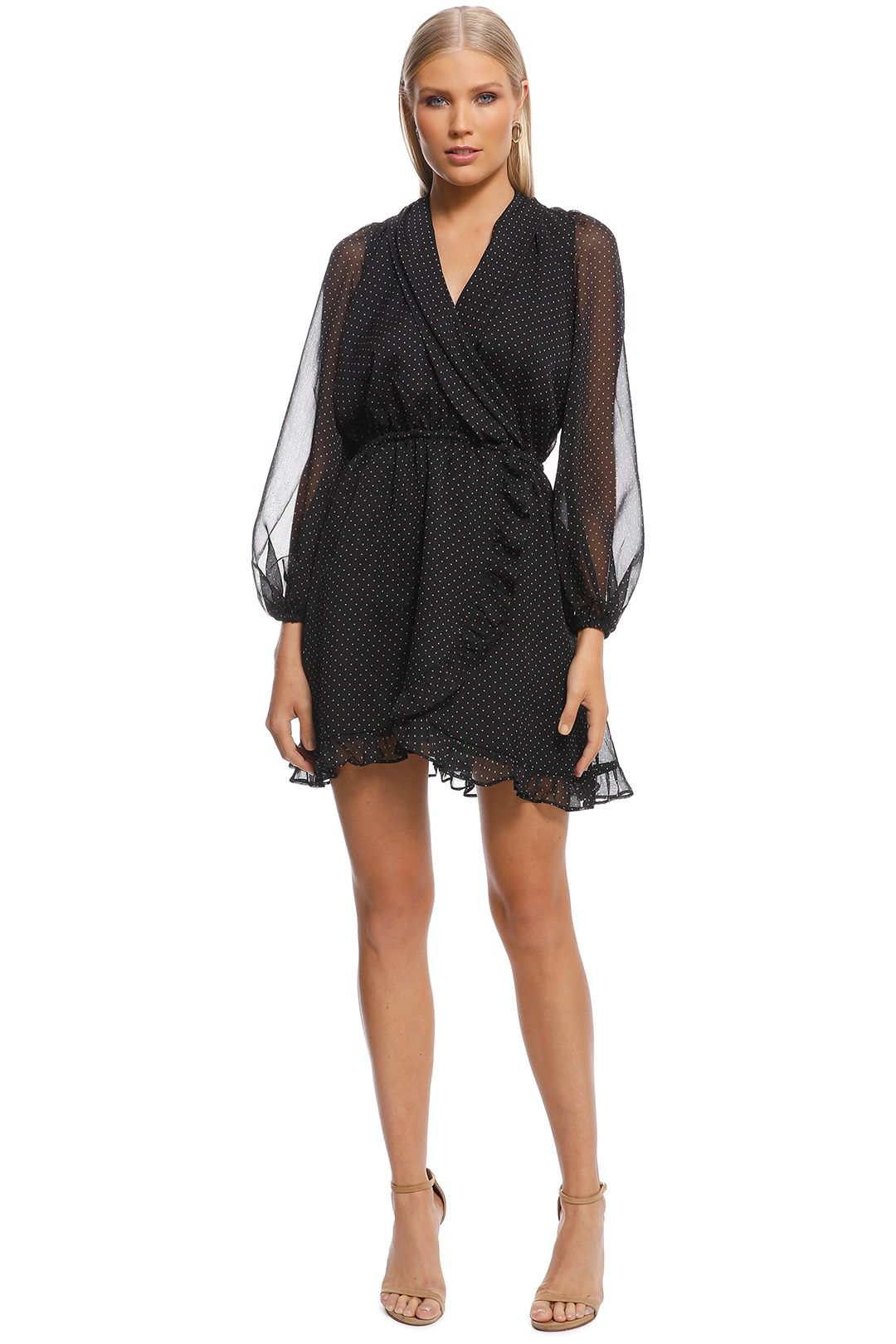 Talulah - Shadow Play Mini Dress - Front