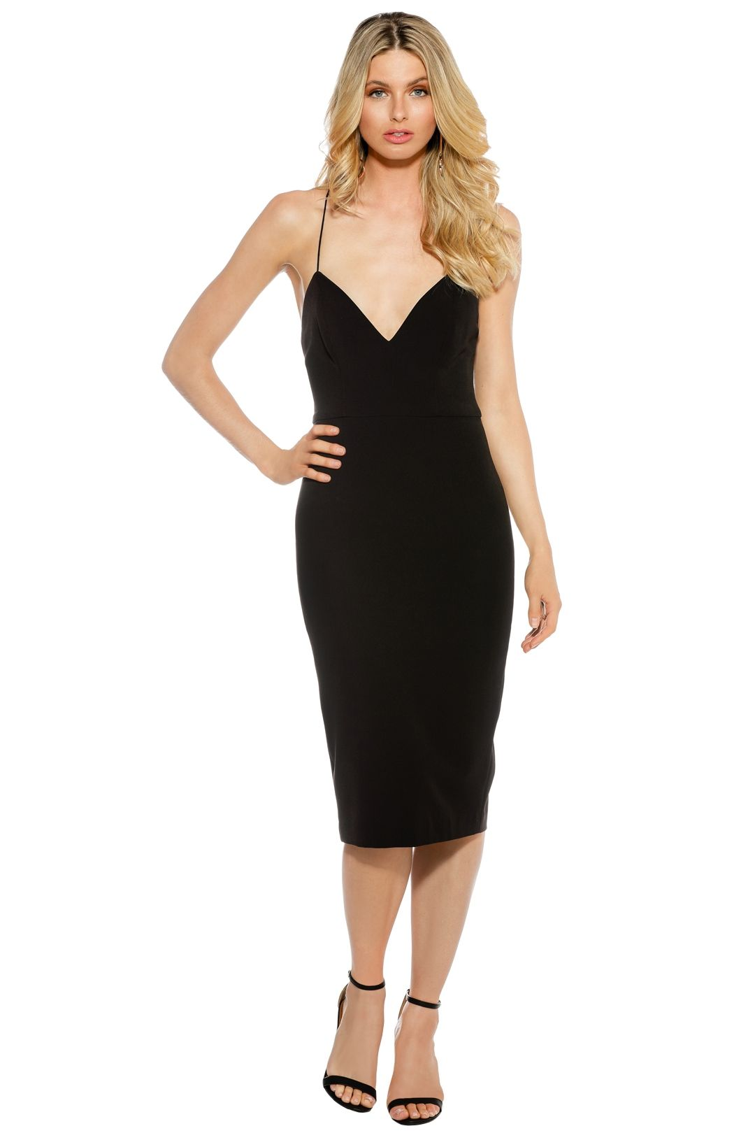 Talulah - Suddenly There Midi Dress - Front