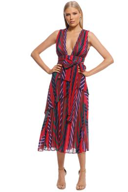 Talulah - Sugar and Spice Midi Dress - Front