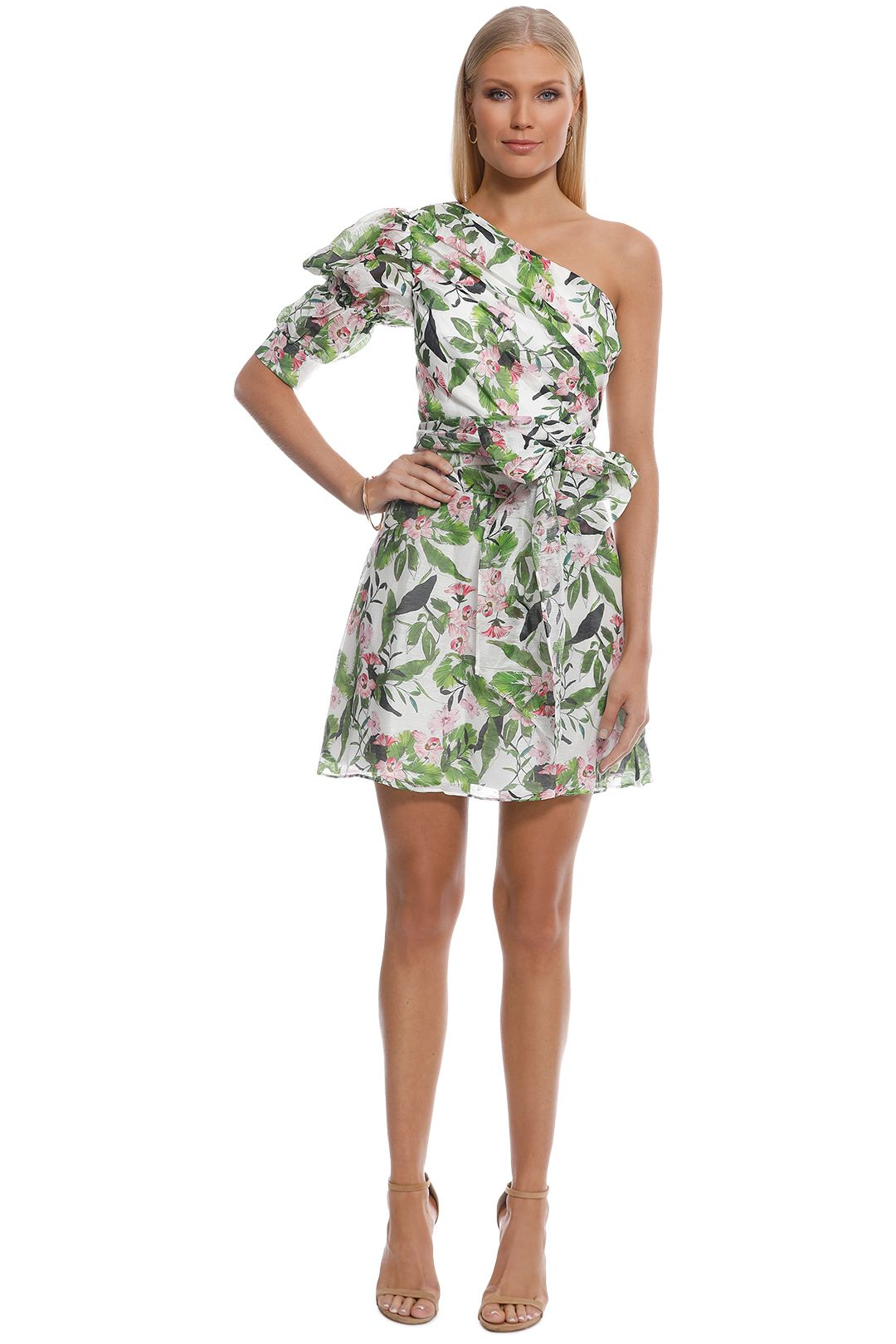 Talulah - Tropo Dreams Mini Dress - Tropical Bloom - Front