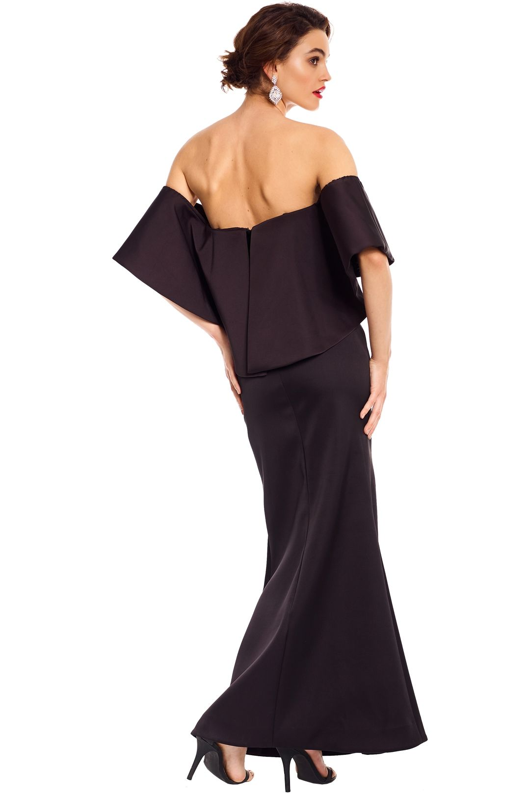 Talulah - Without You Gown - Black - Back