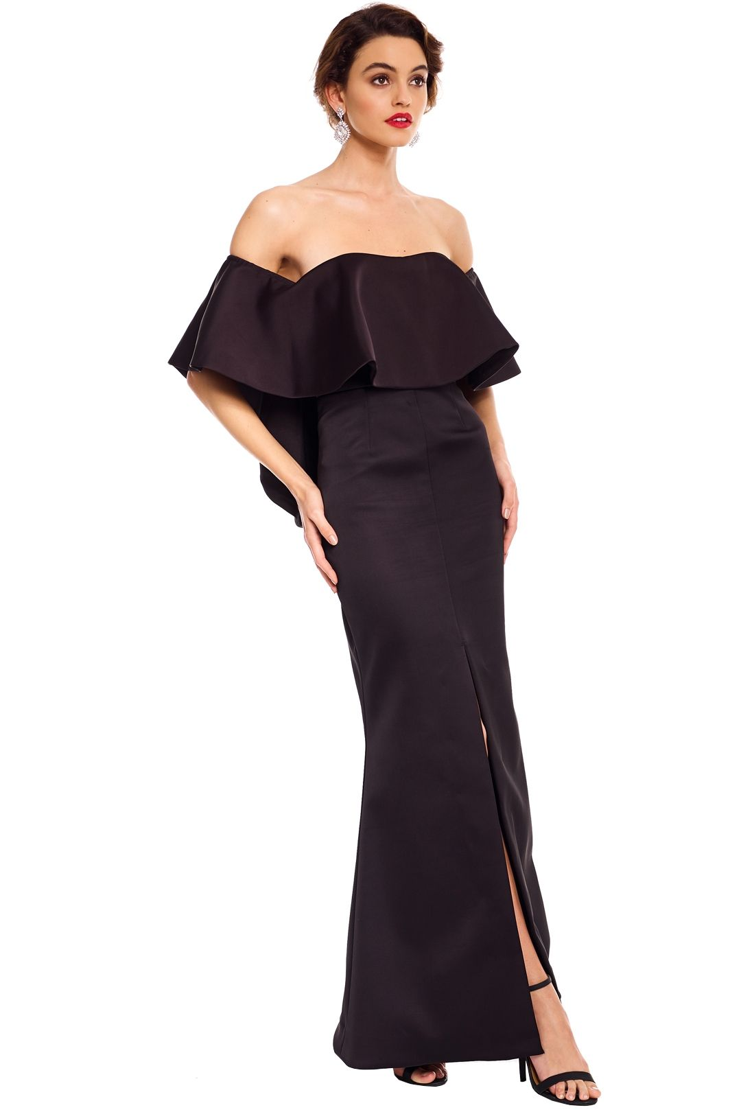 Talulah - Without You Gown - Black - Side