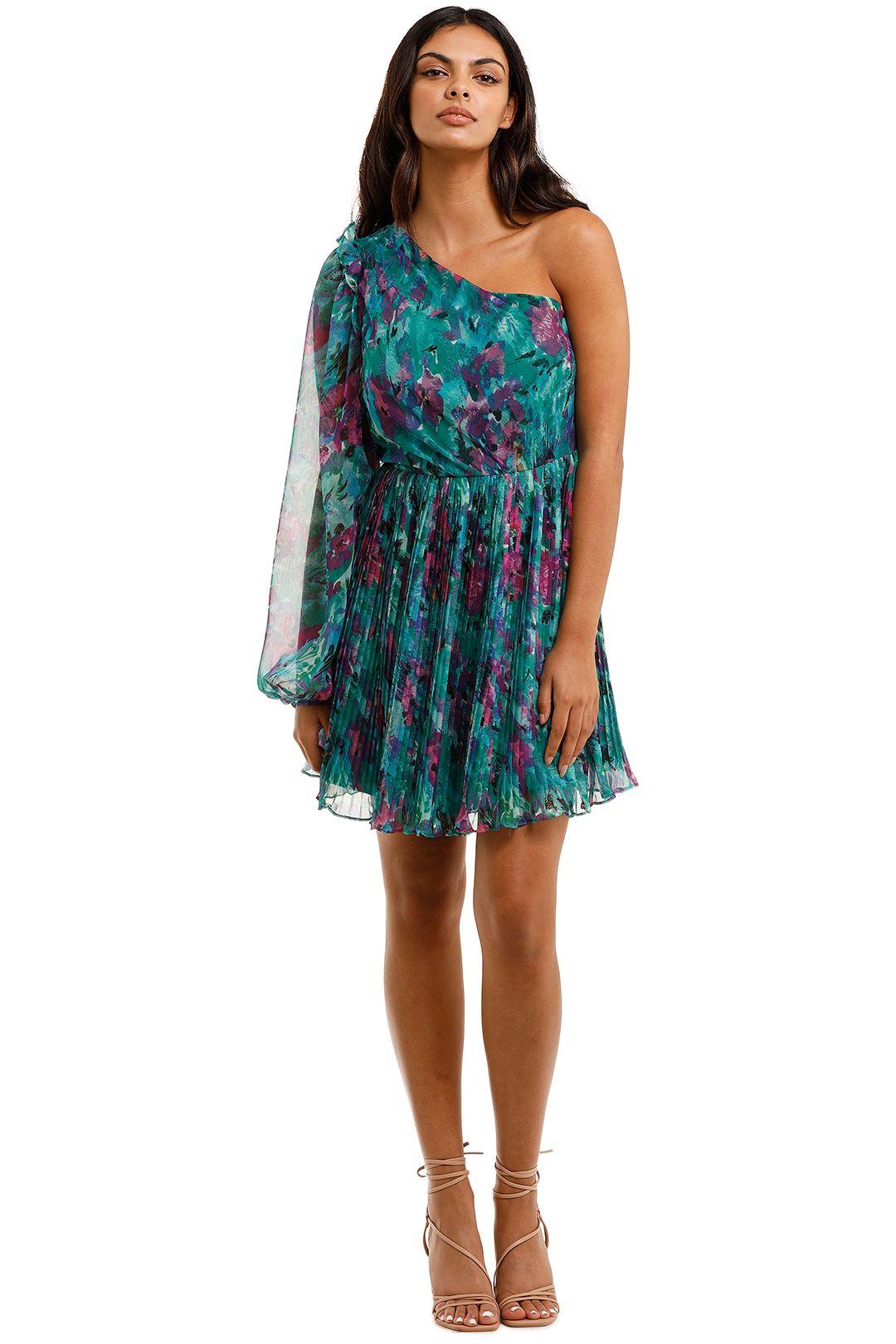Talulah Barcelona Nights Mini Dress Watercolour Floral Print Mini