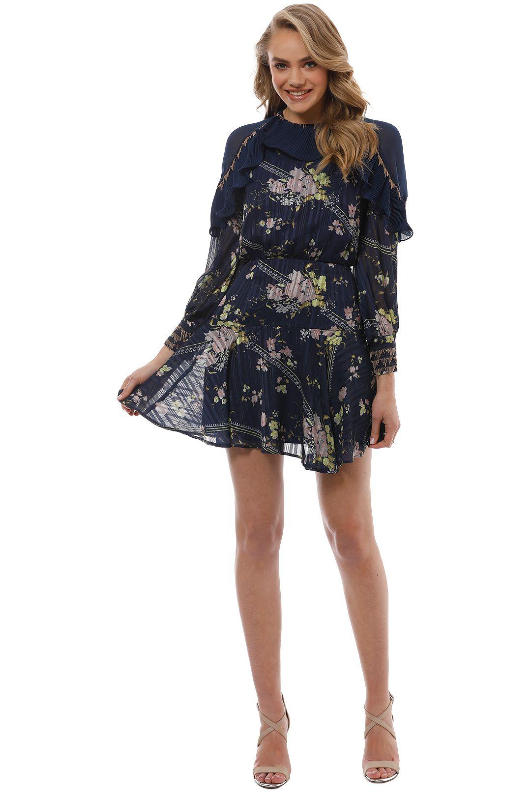 Coco L/S Mini Dress - Front