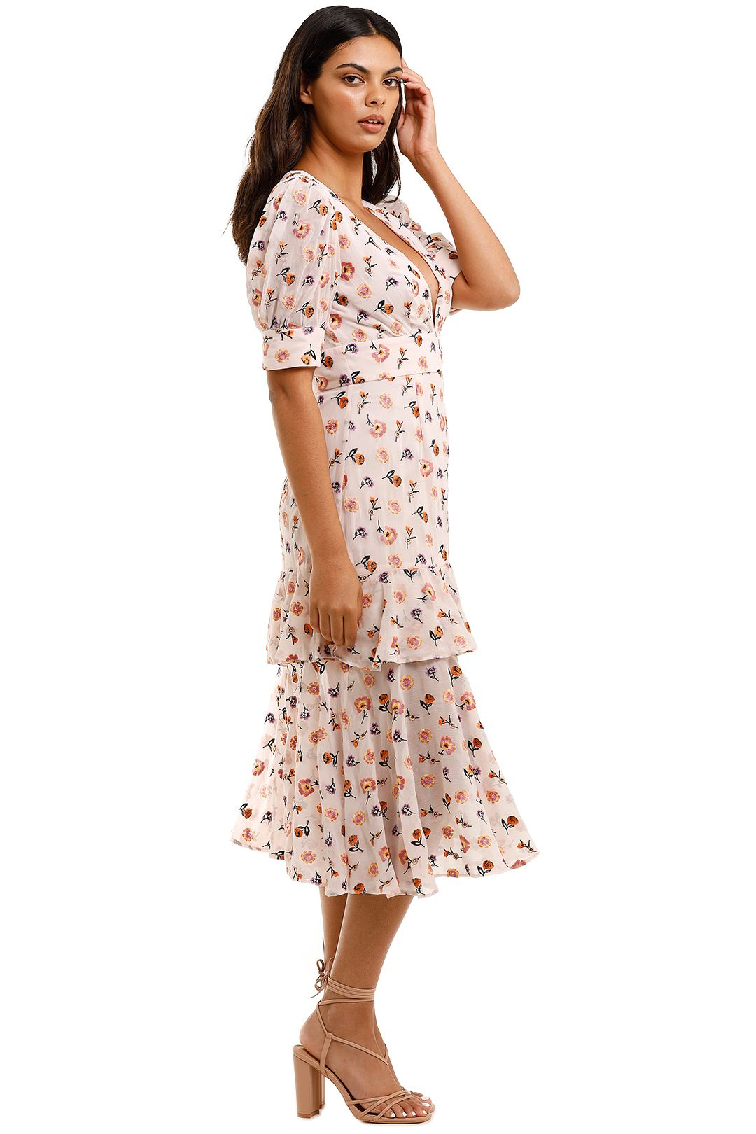 Talulah Follow You Midi Dress floral