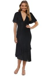 Talulah - Immediacy Midi Dress - Black - Front