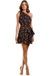 Talulah Imperial Mini Dress Sugar Posie one shoulder