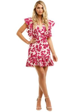 Talulah Les Saison Mini Dress Pink Floral