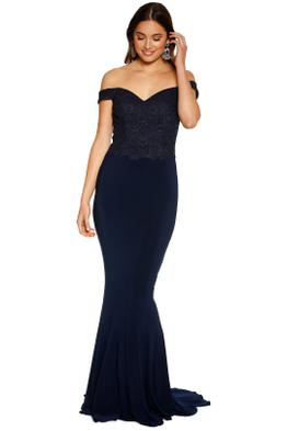 Tania Olsen - Jacqulyn Gown - Navy - Front