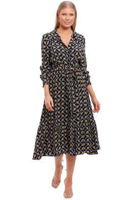 Ted Baker Kwalaa Modernity Printed Dress shirt