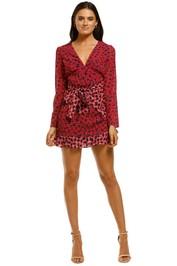 The-East-Order-Anouk-Mini-Dress-Pink-Aspen-Front