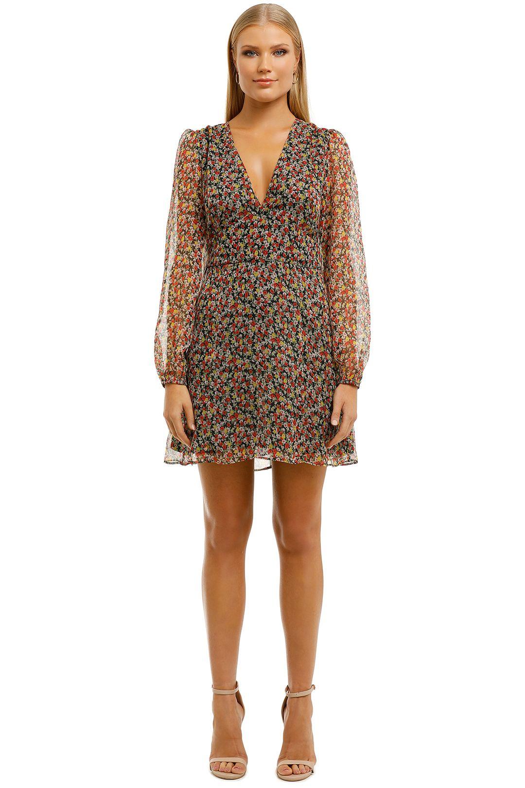 The-East-Order-Brooklyn-LS-Mini-Dress-Sunrise-Bouquet-Front