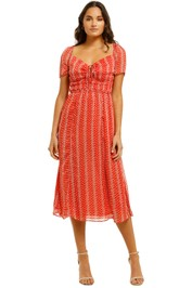 The-East-Order-Liliana-Midi-Dress-Aurora-Red-Front