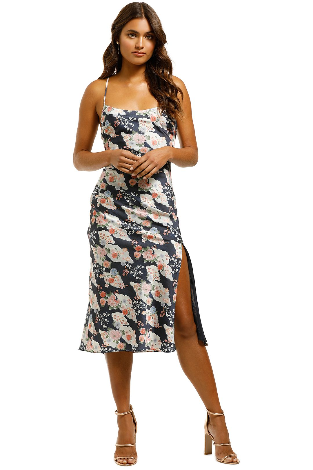 The-East-Order-Teagan-Midi-Dress-Montagues-Front