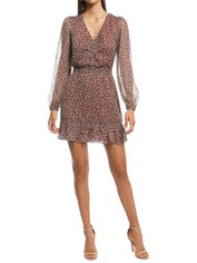 The East Order - Arielle Mini Dress - Print - Front