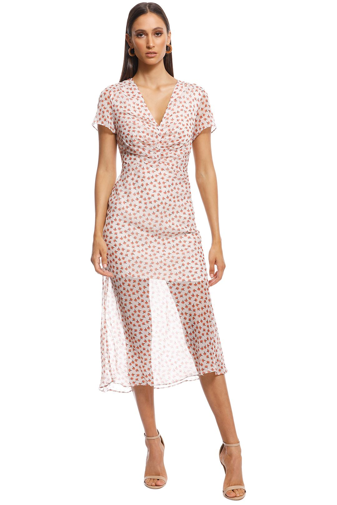 The East Order - Fin Midi Dress - Print - Front
