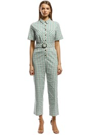 The East Order - Gaia Jumpsuit - Green - Front
