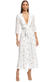 The East Order - Savannah Jumpsuit - White - Front