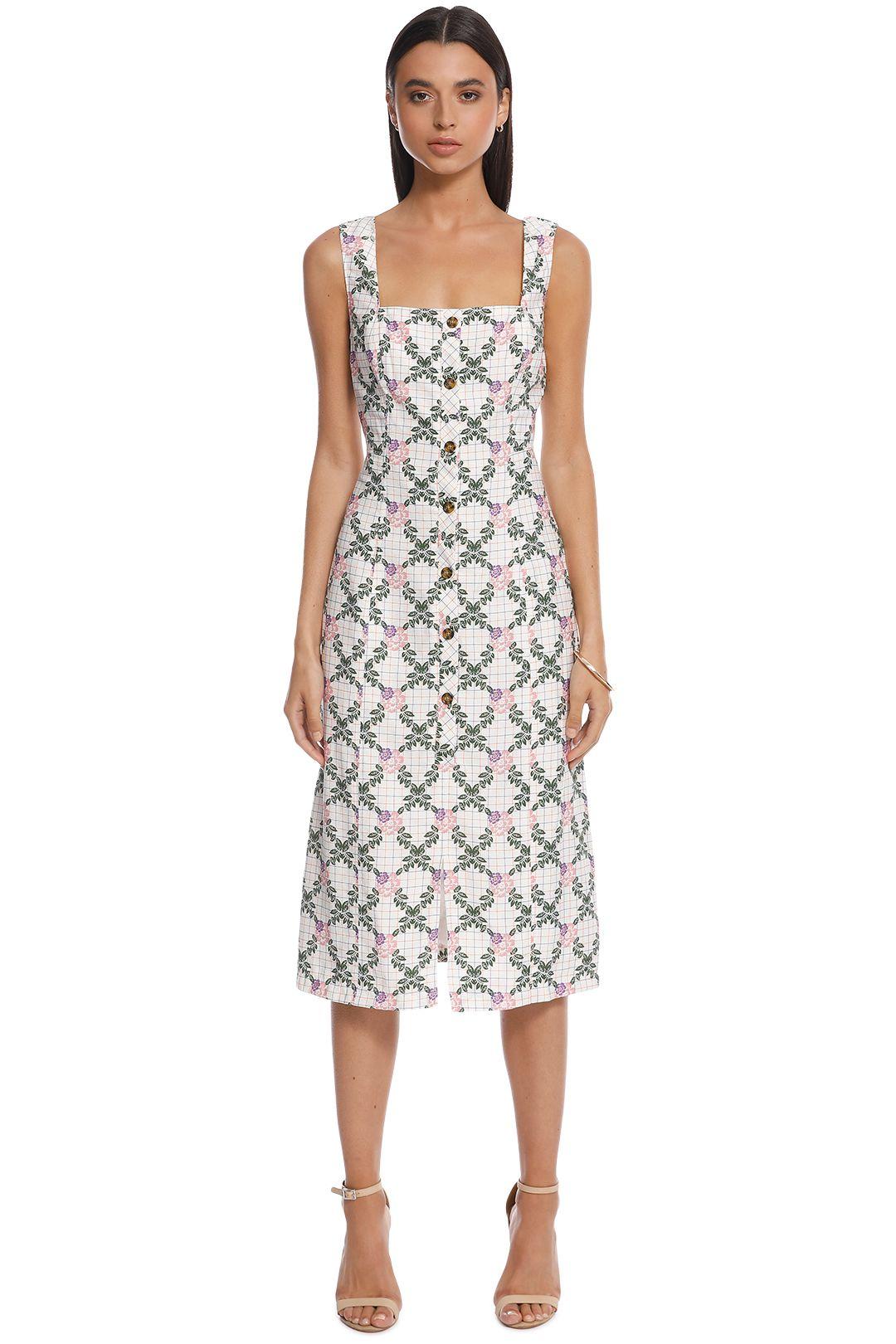 The East Order - Tarshie Midi Dress - Back