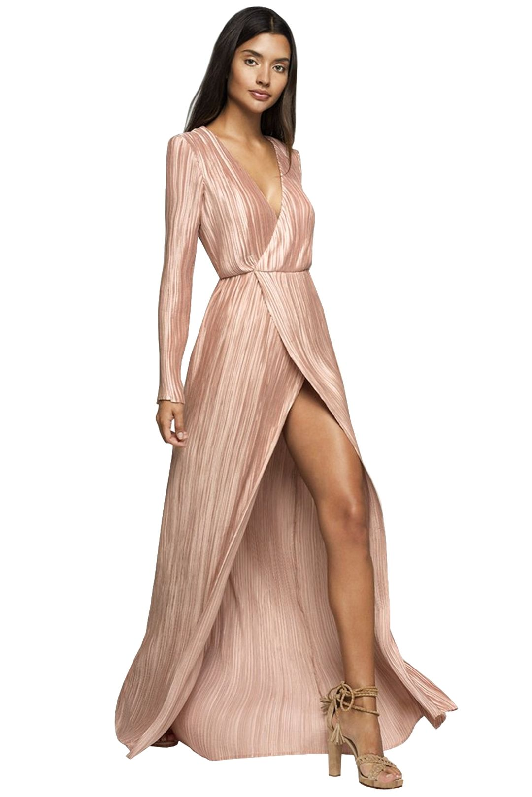 The Jetset Diaries - Primavera Maxi Dress - Pink - Front