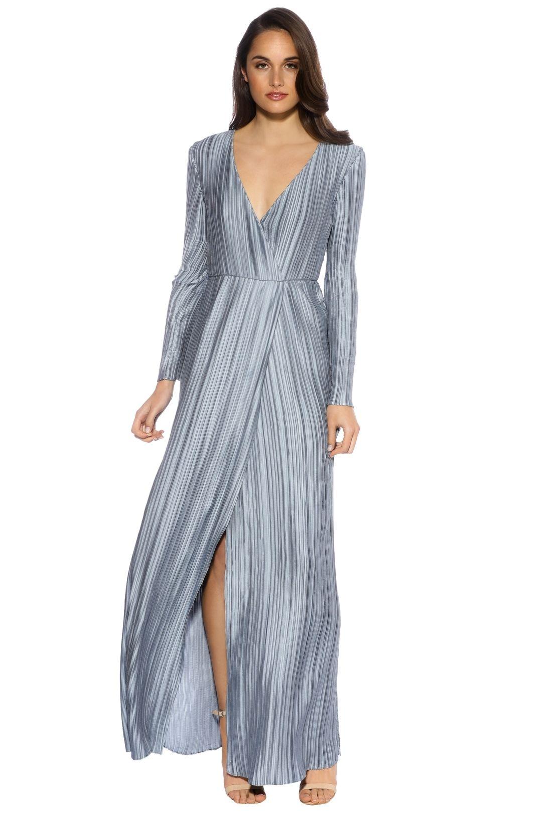 The Jetset Diaries - Primavera Maxi Dress - Powder Blue - Front