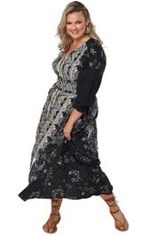 The Poetic Gypsy Gypsy Child Maxi Dress Black