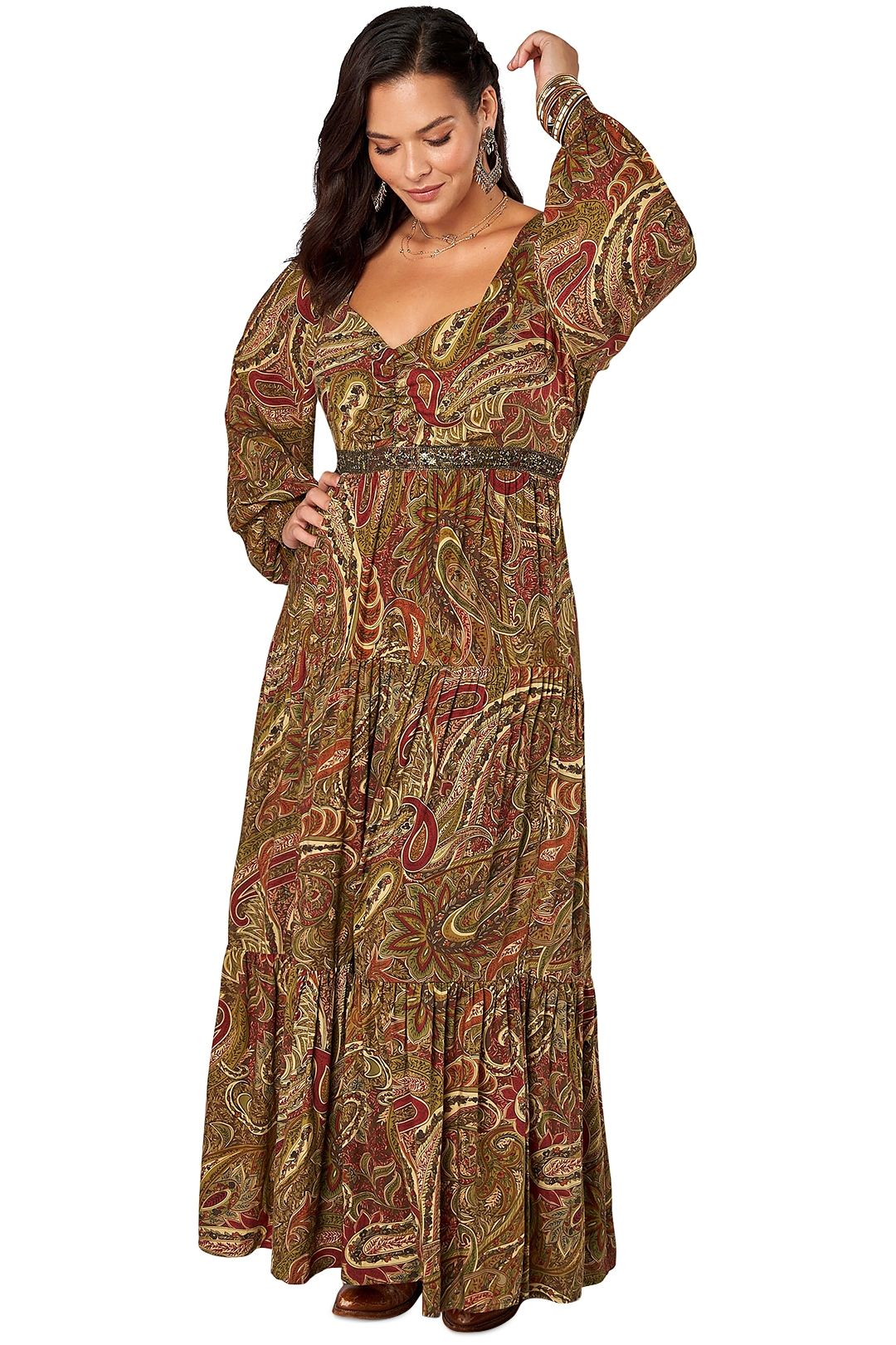 The Poetic Gypsy Love Story Print Maxi