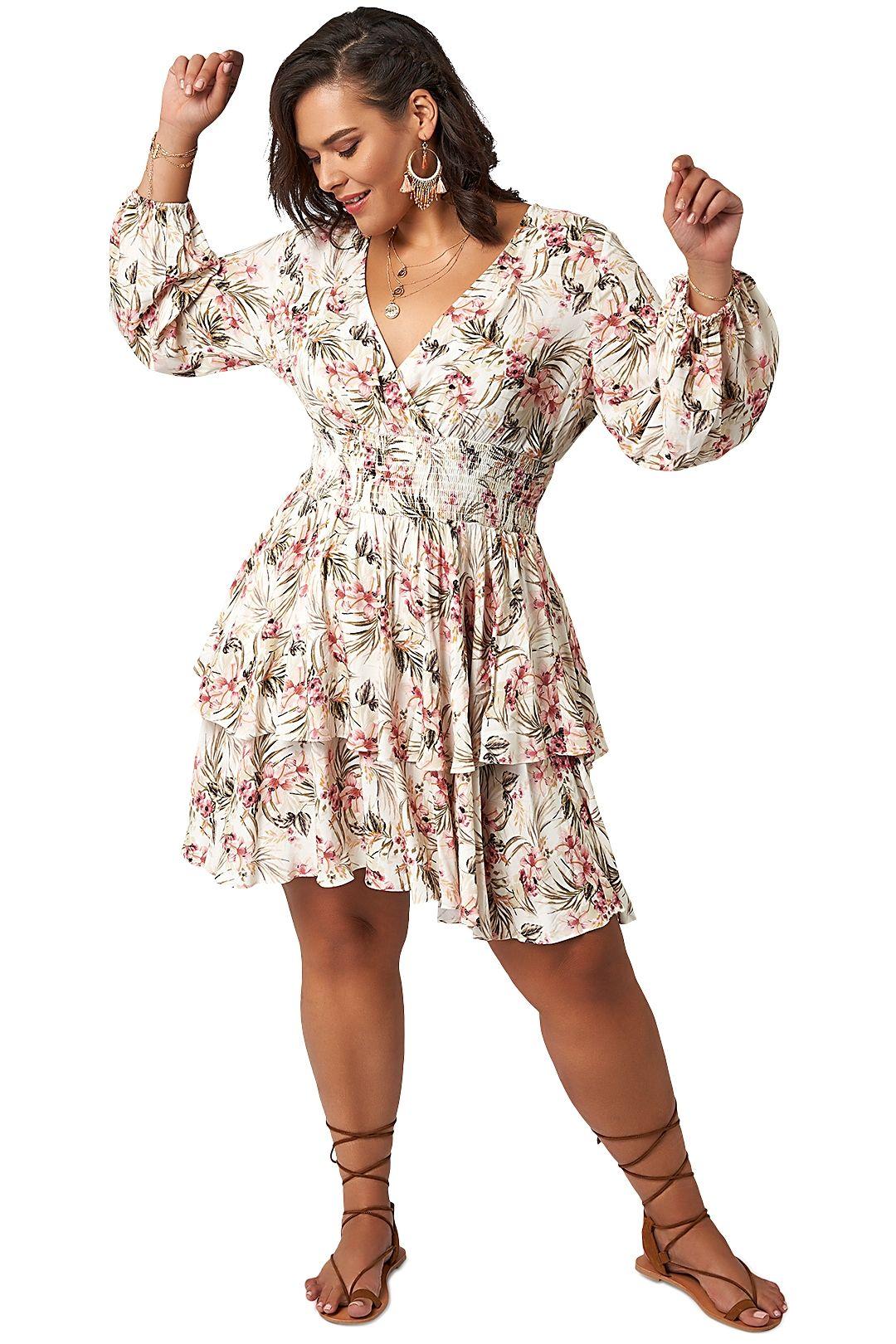 The Poetic Gypsy Sundancer Mini Dress floral