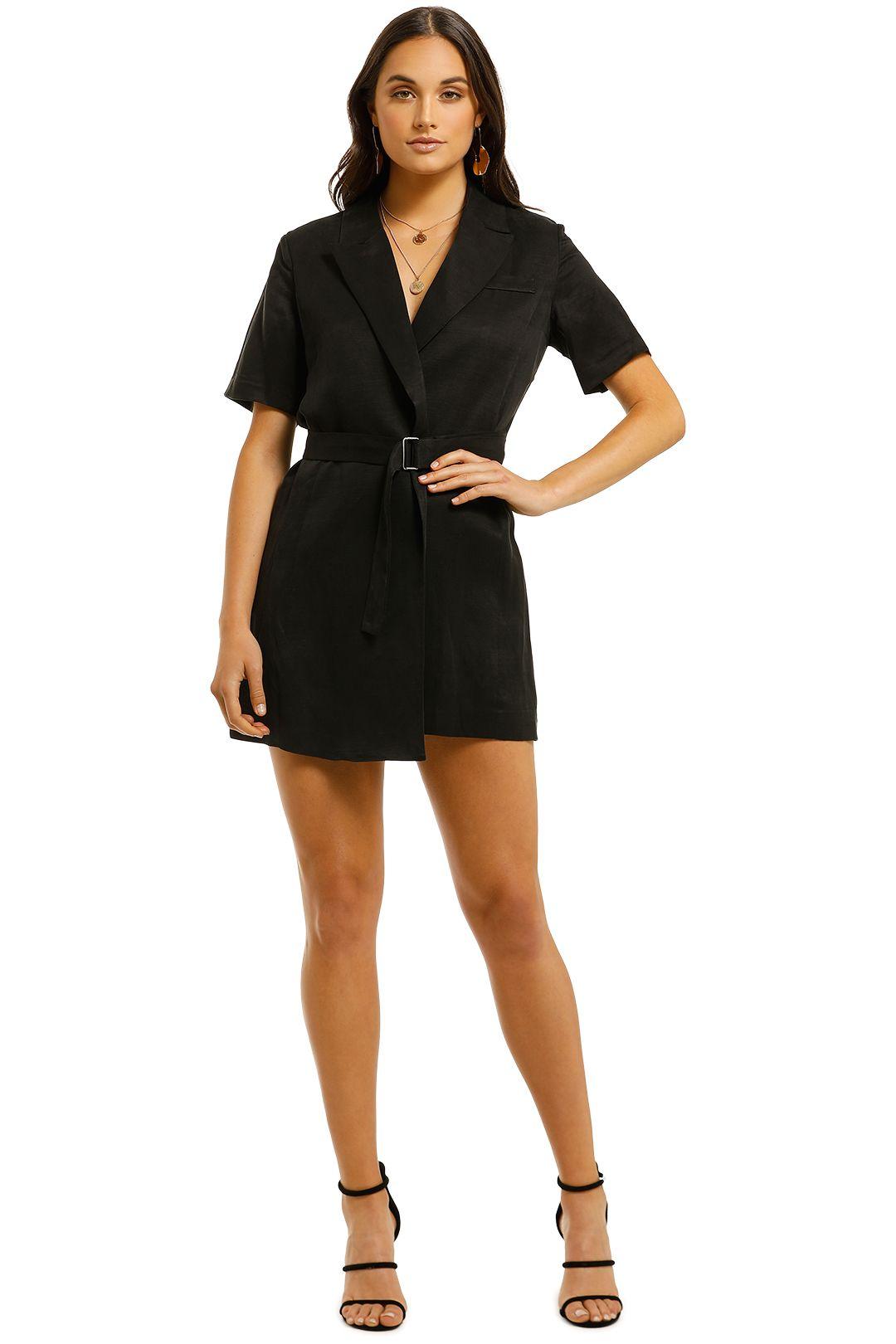 Third-Form-TCB-Blazer-Dress-Black-Front