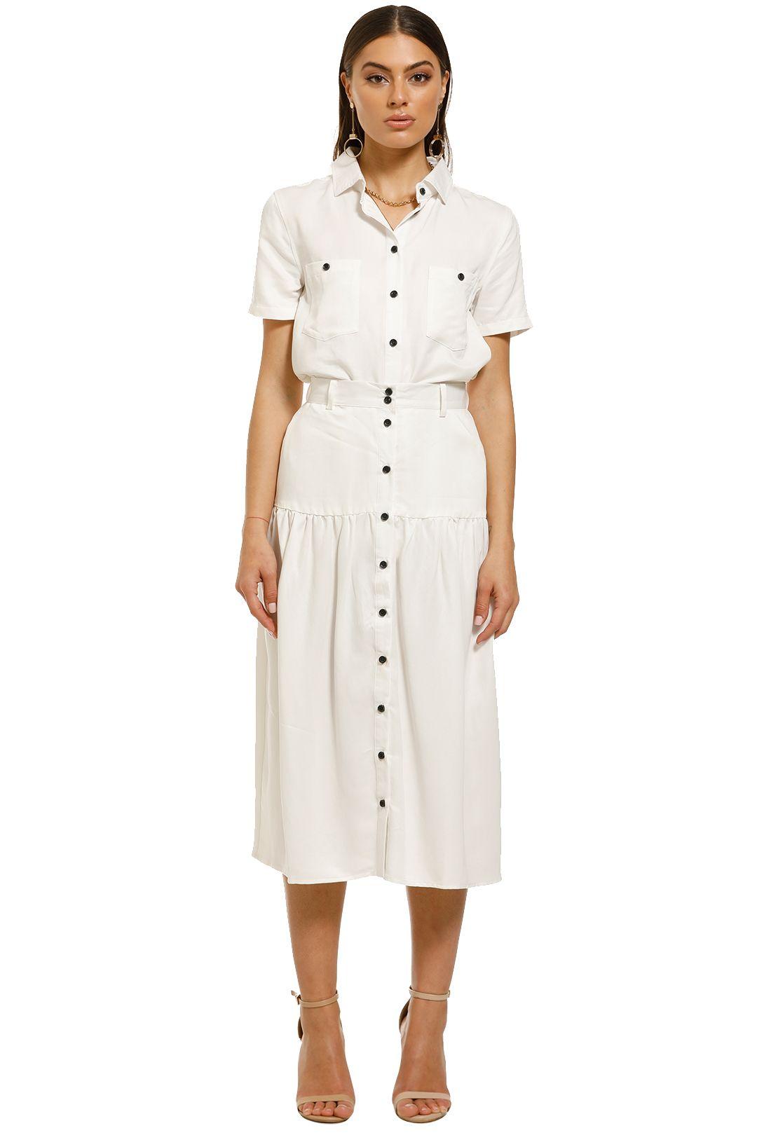 Third-Form-Vice-Versa-Midi-Skirt-White-Front