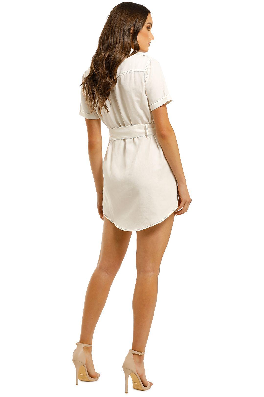 Third-Form-Western-Shirt-Dress-Off-White-Back