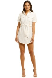 Third-Form-Western-Shirt-Dress-Off-White-Front