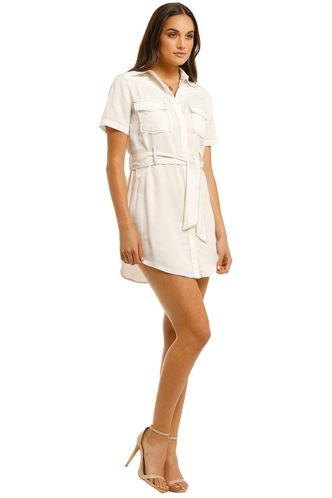 Third-Form-Western-Shirt-Dress-Off-White-Side
