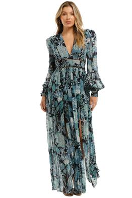 Thurley-Enchanted-Maxi-Dress-Blue-Front