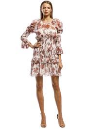 Thurley-Inca Mini Dress-Russet-Front