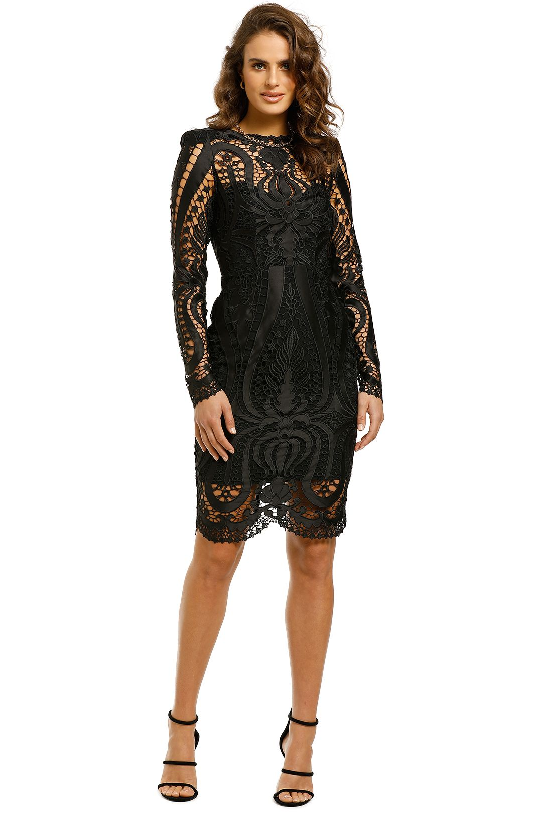 Thurley-Serpentine-Dress-Front
