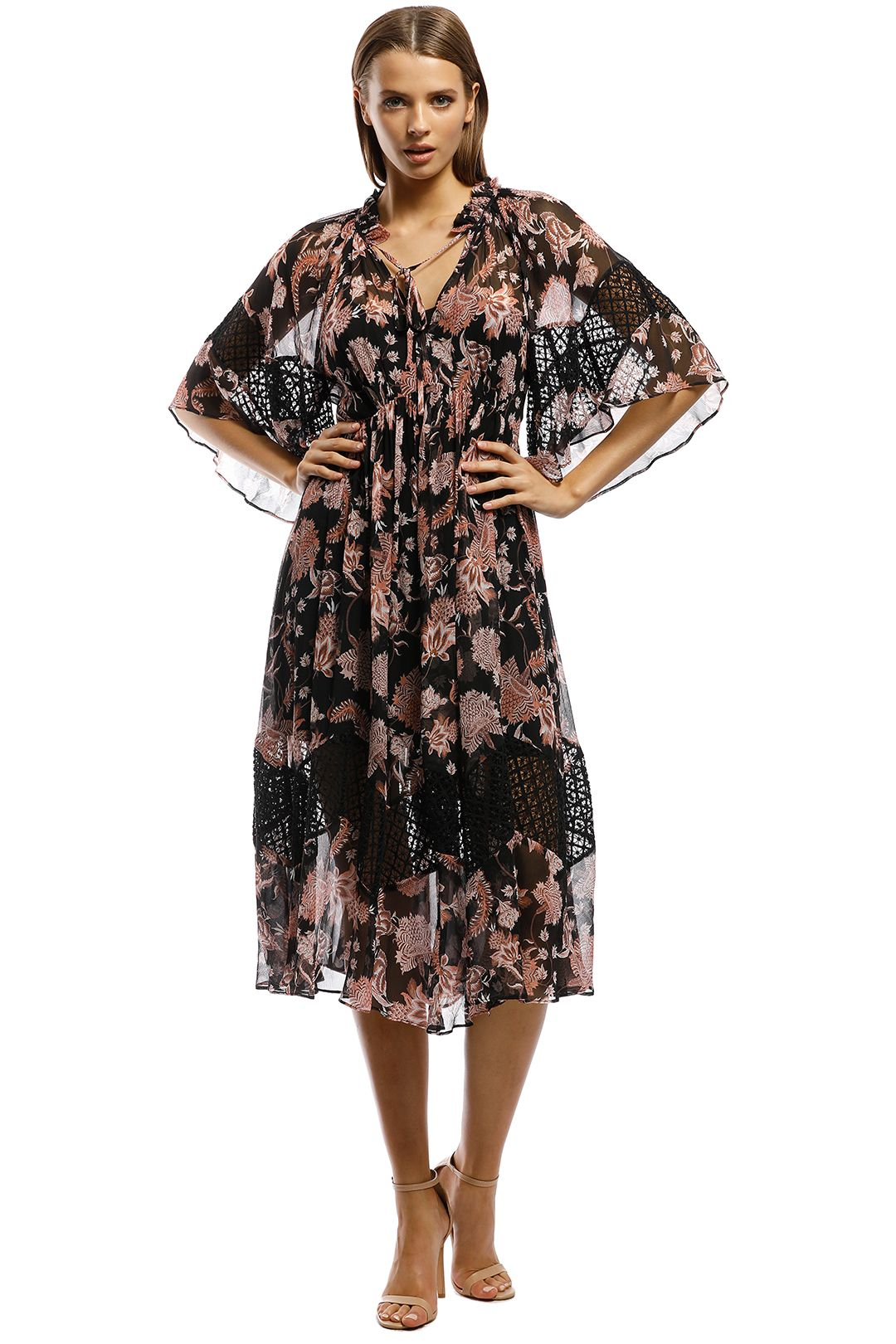 Thurley-Talavera Print Dress-Print-Front