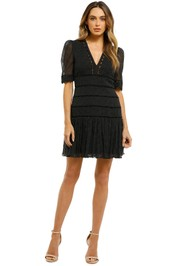Thurley-White-Water-Dress-Black-Ivory-Dot-Front