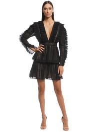 Thurley - Dandelion Dress - Black - Front