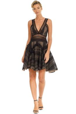 Thurley - Halley_s Comet Dress - Black - Front