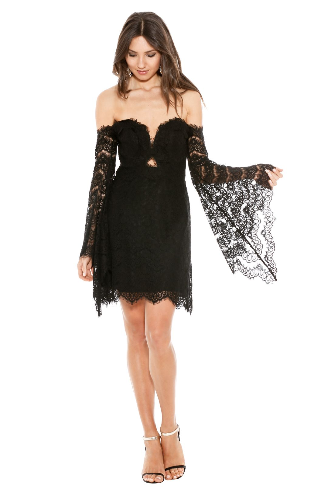 Thurley - Love Lost Dress - Black - Front