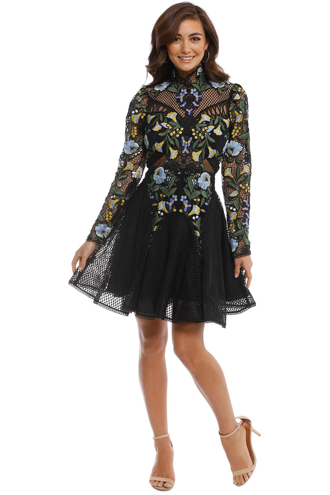 Thurley - Phoenix Dress - Black - Front