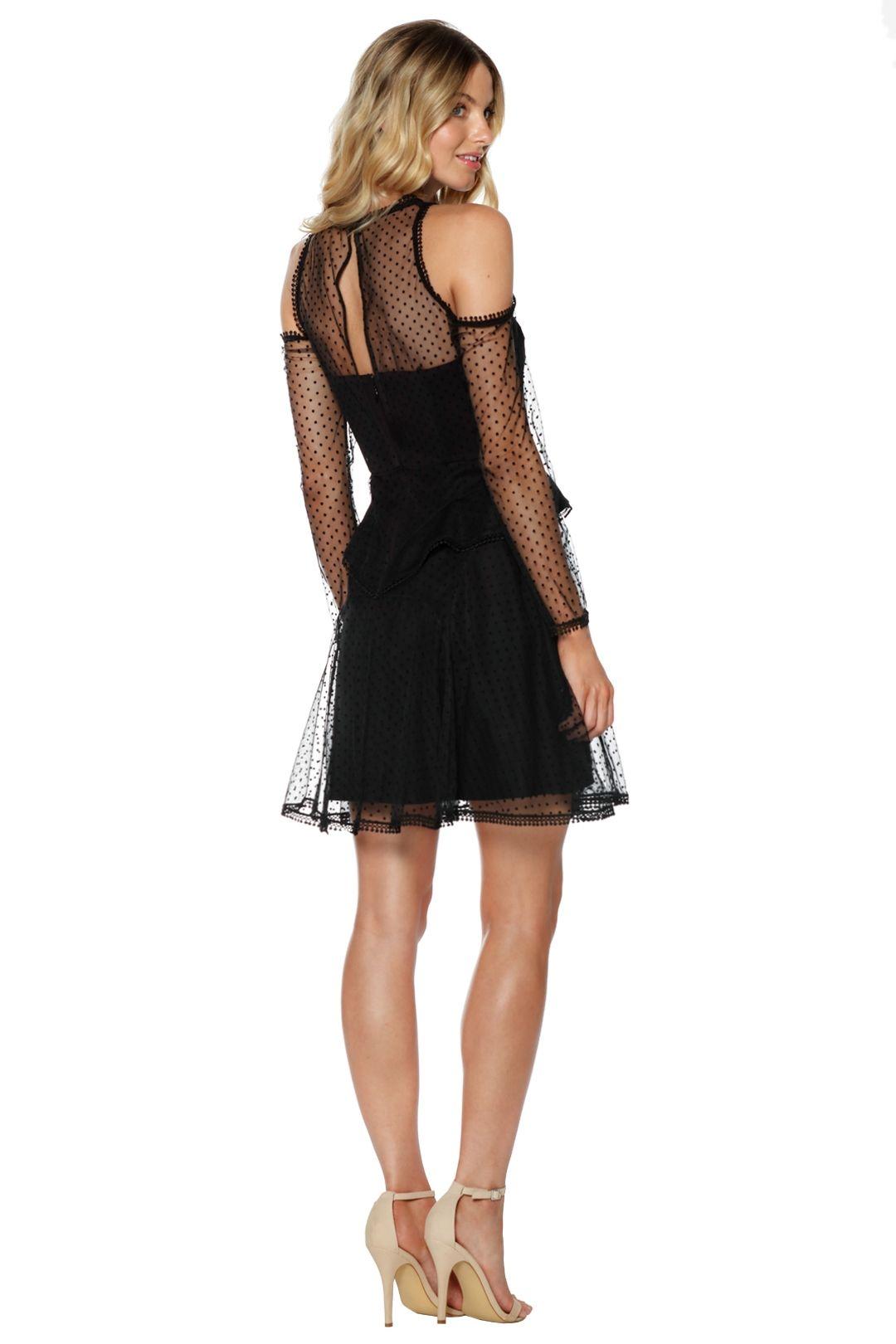 Thurley - Poppy Dress - Black - Back