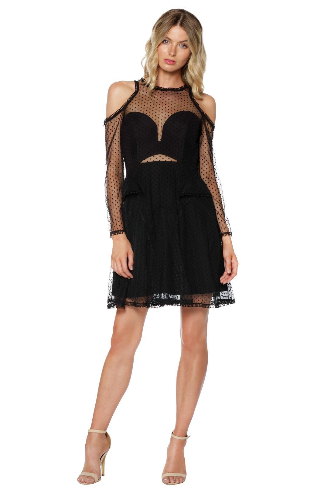 Thurley - Poppy Dress - Black - Front