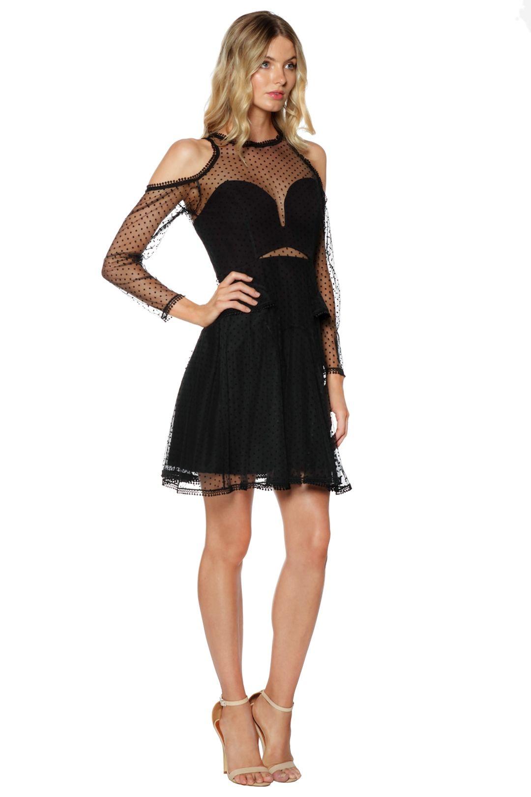 Thurley - Poppy Dress - Black - Side